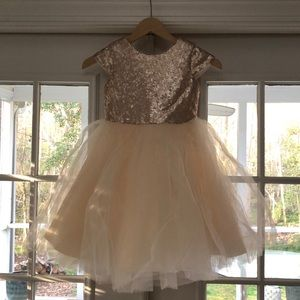 Other - Sequin & Tulle Girls Special Occassion Dress